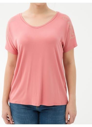 Tişört-Koton Plus
